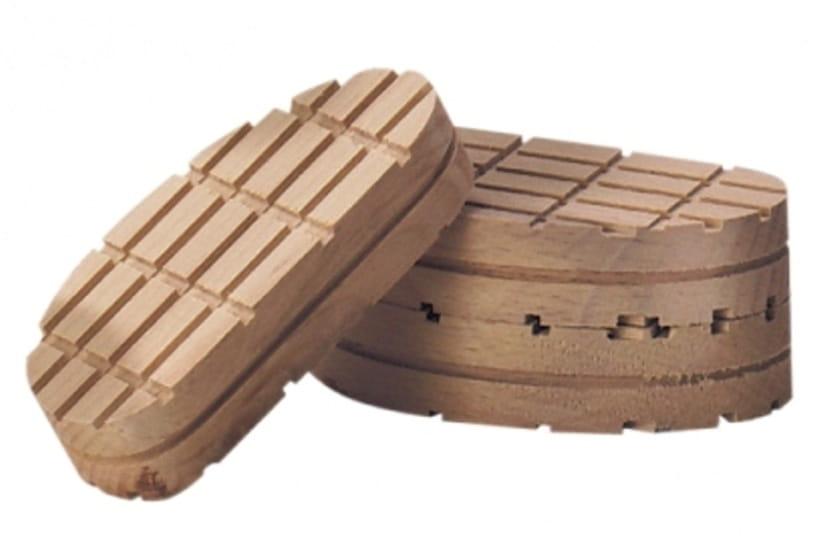Bloczek drewniany standardowy 110 mm do odciążania chorej racicy u bydła