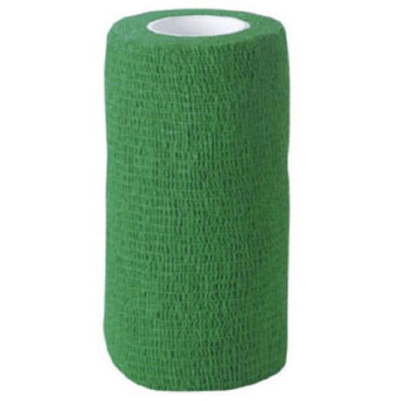 Bandaż samonośny zielony dla zwierząt hodowlanych 5 cm x 4,5 m